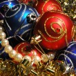 Christmas decorations background — Stock Photo #1283421