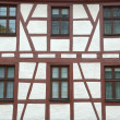 Traditional german half-timbered house — Stock Photo #1283895