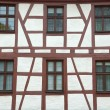 Traditional german half-timbered house — Foto Stock