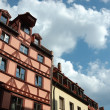 Traditional german half-timbered house — Stock Photo #1283901