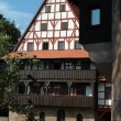 Traditional german half-timbered house — Stock Photo #1283907