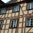 Traditional german half-timbered house — Stock Photo #1283909