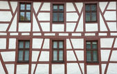 Traditional german half-timbered house — Stock Photo
