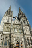 Dom- the Regensburg Cathedral — Stock Photo