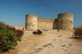 Citadel in old moldavian fortress — Stock Photo
