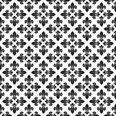 Seamless fleur-de-lis texture — Stock Vector