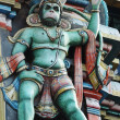 Hanuman - hindu God, king of monkeys - Stock Photo