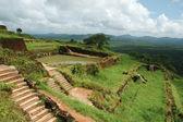 On the top of Sigiriya rock monastery — Stock Photo