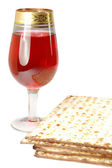 Passover celebration still life — Stock Photo