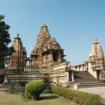 Lakshmana temple at Khajuraho,India — Stock Photo