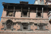 Casa antiga em bhaktapur, nepal — Fotografia Stock