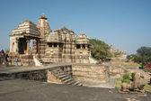 Hindu temples at Khajuraho,India — Stock Photo