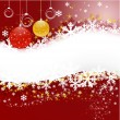 Royalty-Free Stock Vector: Christmas banner with stars
