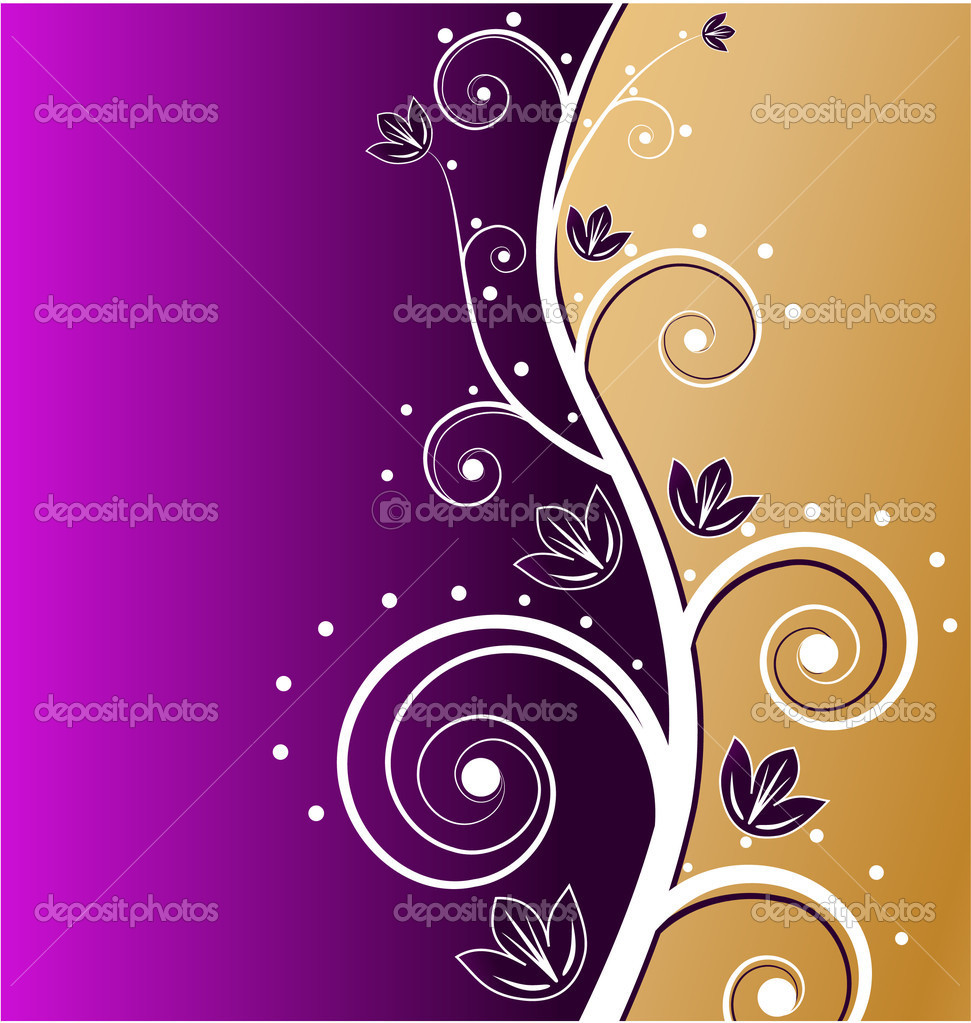 Elegant gold card — Stock Vector #1300919