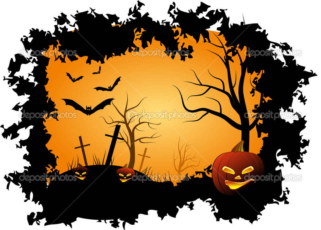 Halloween background — Stock Vector #1300932