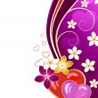 Royalty-Free Stock Imagen vectorial: Valentine\'s day greeting card