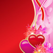 Royalty-Free Stock Vector Image: Valentine\'s day greeting card