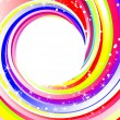 Rainbow background — Stockvector #2455675