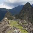 Machu Picchu and Wine Picchu - Stock Photo