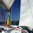 Stock Photo: Under sail