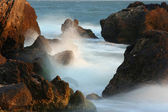 Stones and sea surf — Stock Photo