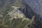 Machu Picchu, view from the top — Stock Photo