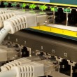 Foto Stock: Network switch