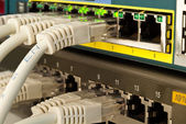 Przełącznik sieciowy — Zdjęcie stockowe