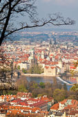 Prague at Spring — Stock Photo