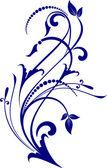 Dekoratif şubesi — Stok Vektör