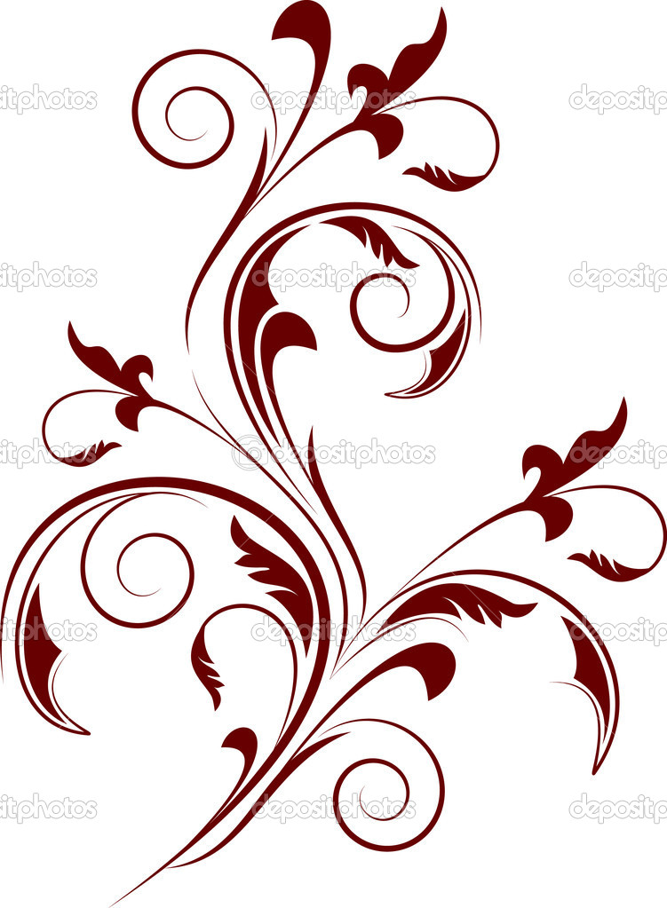 Decorative branch — Stock Vector #1078784