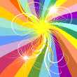 Abstract rainbow background — Stock Vector #1082726