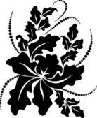 Dekorativ gren — Stockvektor