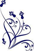 装飾的な枝 — ストックベクタ