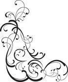 Decorative branch — Stock Vector