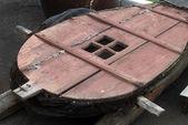 Old blacksmith bellows — Stock Photo