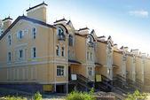 近代的な建物の建設 — ストック写真