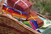 Textile store — Stock Photo