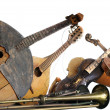 Royalty-Free Stock Photo: Old broken music instruments