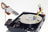 HDD repair or data recovery — Stock Photo
