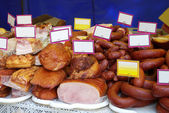 Assortment of Cold Meats — Stock Photo
