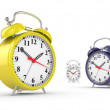 Classic alarm clock — Stock Photo
