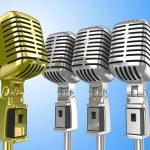 Vintage mikrofon — Stok fotoğraf #1153531