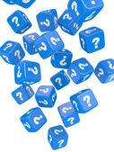 Koyu mavi boks — Stok fotoğraf