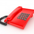 Klasichesky phone — Stock Photo
