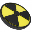 Sign radiation - Stock Photo