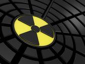 Işareti radyasyon — Stok fotoğraf