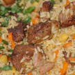 Pilaf with meat — Stock Photo #1452975