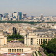 Aerial view on the Champs de Mars - Stock fotografie