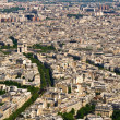 Royalty-Free Stock Photo: Aerial view on the Champs de Mars